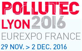 Logo Pollutec 2016 Lyon Eurexpo